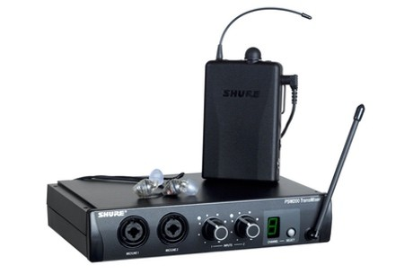 location ear monitor shure psm 200 à nantes